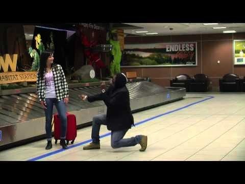 Funky Flight Attendant & Bobby Mileage Dance off