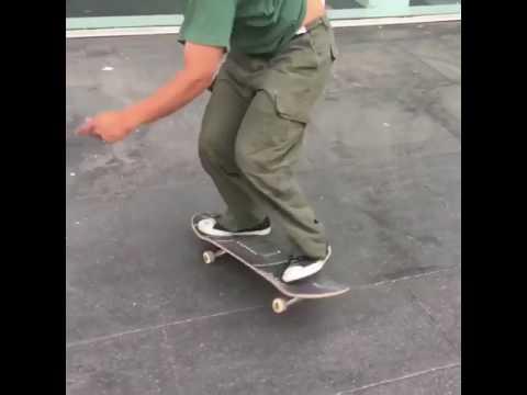 One more @gsdoggie 💚📱: @lassofilmsbarcelona | Shralpin Skateboarding
