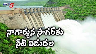 Huge Water Inflow in Srisailam Dam as 4 Gates Opened
