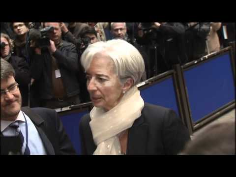 Strauss-Kahn arrest: Lagarde declines comment as she arrives at Euro meeting