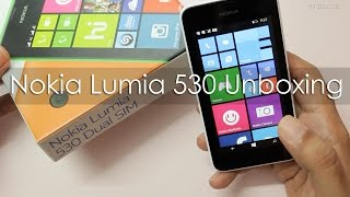 Nokia Lumia 530 Dual Sim Budget Windows Phone Unboxing & Overview