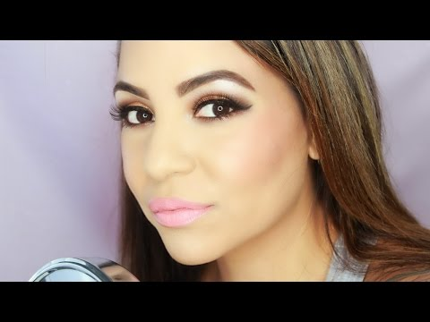 Warm Brown & Gold Smokey Eye ! The SoLa Look !