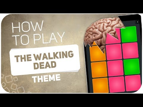 How to play: THE WALKING DEAD (THEME) - SUPER PADS - Kit WALKING
