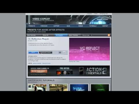 VideoCopilot.net Twitch After Effects (1 cd)