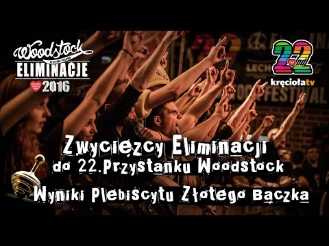 LIVE - Ogłoszenie Wyników Eliminacji Do 22. Przystanku Wodstock + Wyniki Złotego Bączka