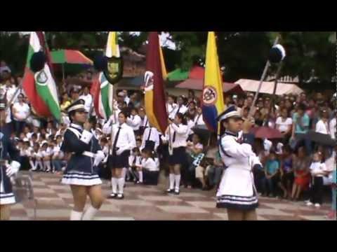 Banda Colegio Clemencia De Caycedo y Velez Revista Cumpleaños Purificacion-Tolima 2011