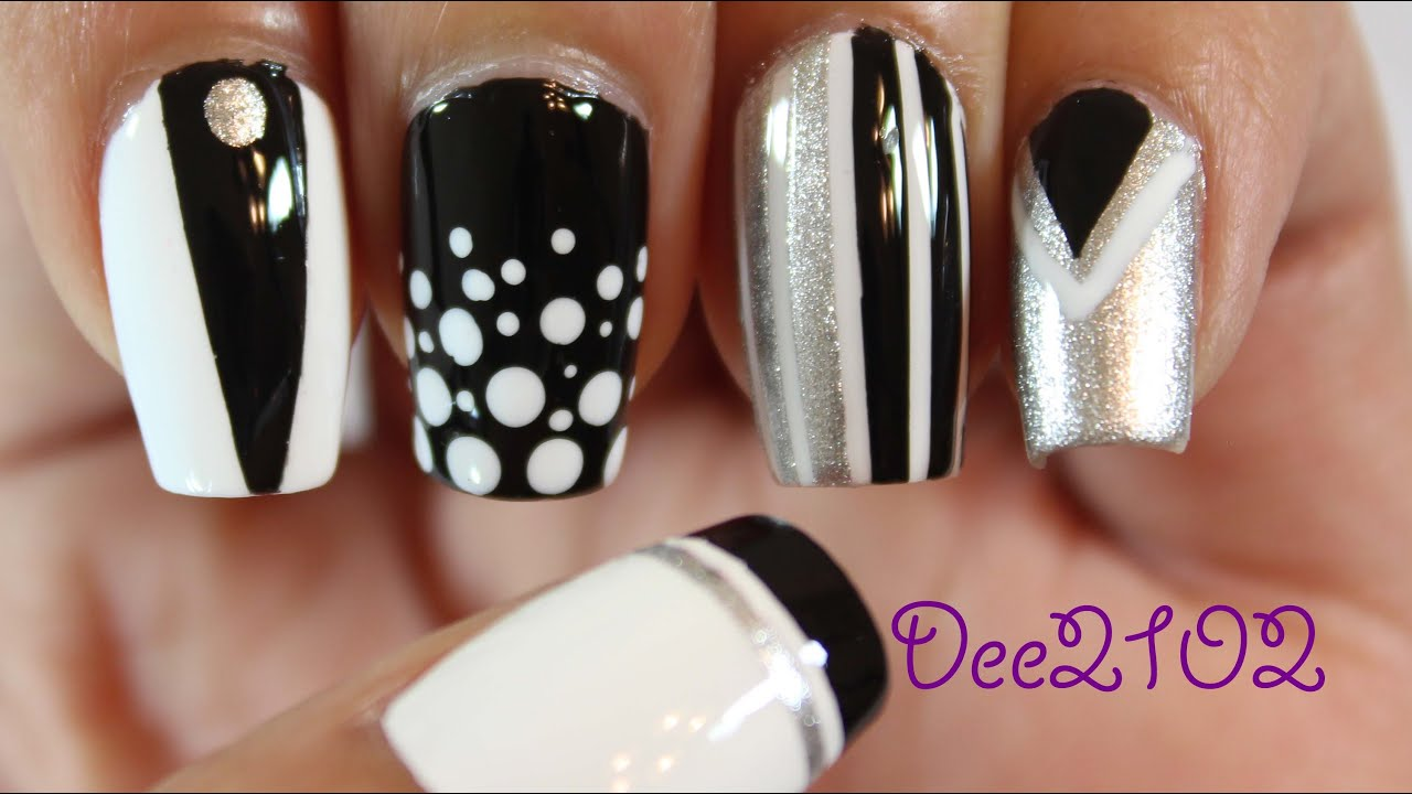 Mix and Match Nails - Dee2102