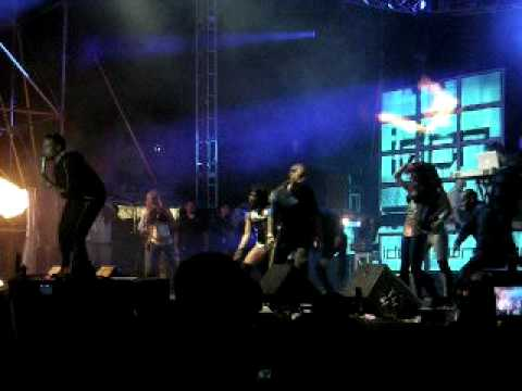 Don Omar  Justas 2009 (zona Blue) video