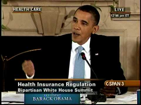 Obama and Cantor at Health Care Summit