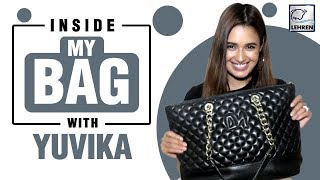 Inside My Bag With Yuvika Chaudhary | Exclusive