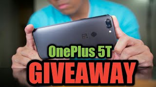 Oneplus 5T Android P Unboxing, Review and Giveaway Sep-2018