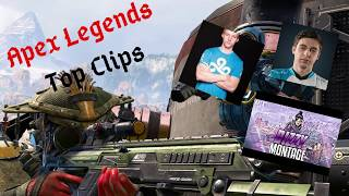 Apex Legends Top Clips #4 Feat(Shroud, Dizzy, MOONMOON_OW and Summit1G)