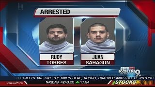 Two men arrested for having sex with underage girl