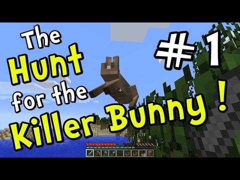 Minecraft 1.8 Hunt for the Killer Bunny Part 1