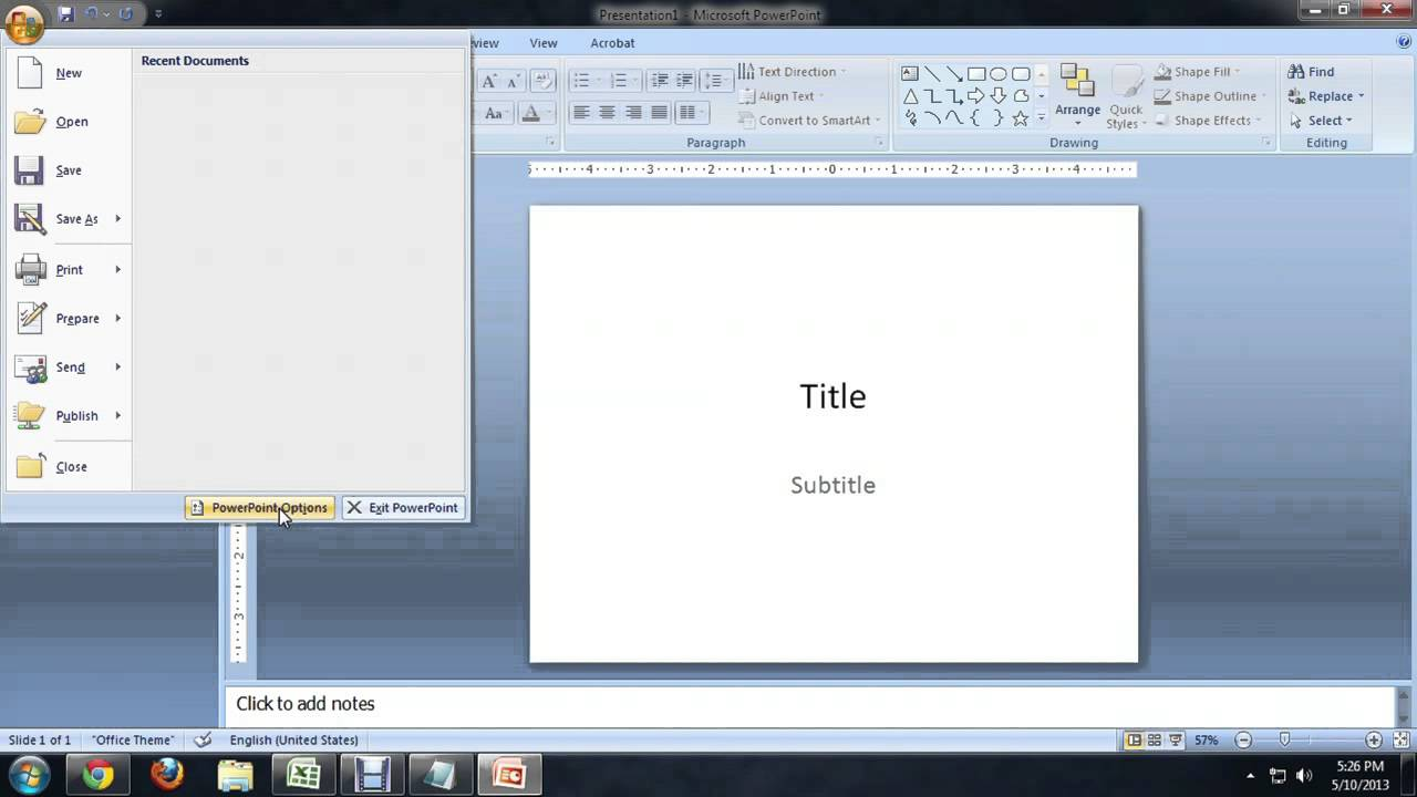 how to change pdf to powerpoint