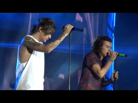 One Direction - Little Things - OTRA June 6th, Cardiff - LARRY FOCUSED