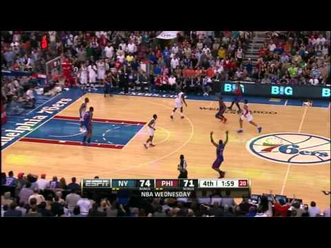 [HD] Jeremy Lin & Amare - Knicks vs 76ers FULL COMPLETE HIGHLIGHTS  3.21.2012