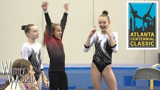 Whitney Bjerken | 2nd Level 10 Gymnastics Meet | No Arms Floor Champion