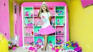 ОГРОМНЫЙ ДОМ для кукол ЛОЛ !!! L.O.L. Surprise Doll House. Lol Under Wraps. Видео для детей
