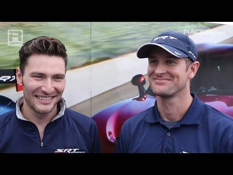 RACER Ryan Hunter-Reay and Kuno Wittmer Atlantics to SRT