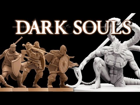 DARK SOULS Board Game - Review & Unboxing