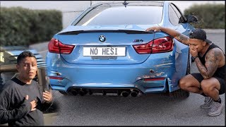 Carwash Employee CRASHED my BMW M4!
