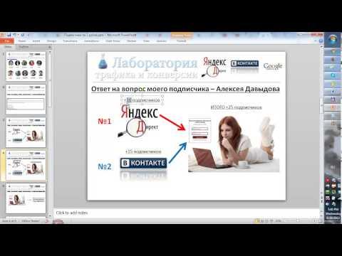Отслеживаем конверсию подписчиков с различных каналов рекламы ЧАСТЬ 1