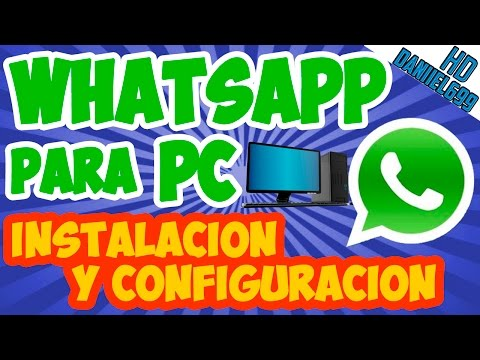 Como Instalar WhatsApp para PC 2014 en Windows 8 / 8.1 / 7 / Vista / XP