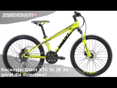 Recenzja: Giant XTC SL JR 24 - szukamy fajnych rowerów MTB dla dzieciaków