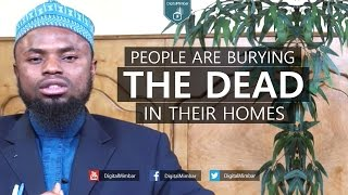 People are Burying the Dead in their Homes – Okasha Kameny