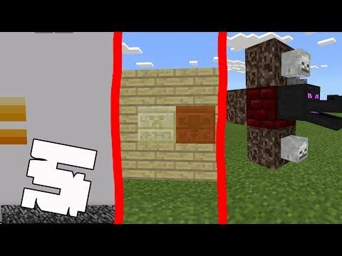 5 ТРЮКОВ, ФАКТОВ в Minecraft PE 1.2