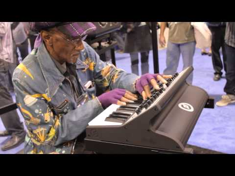 Moog Sub Phatty Behind the Scenes w/ Bernie Worrell (P-Funk)