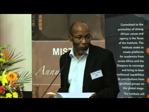 MISTRA 5th Lecture hosted by UJ, Pan African Thought and Conversation