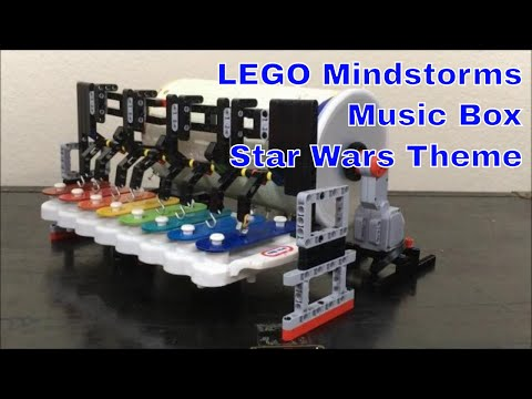 LEGO Mindstorms Music Box - Star Wars Theme