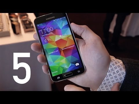 Top 5 Samsung Galaxy S5 Features! video