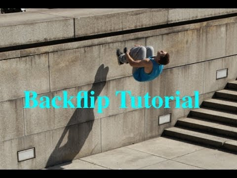 Backflip / Rückwärtssalto Tutorial ( deutsch )