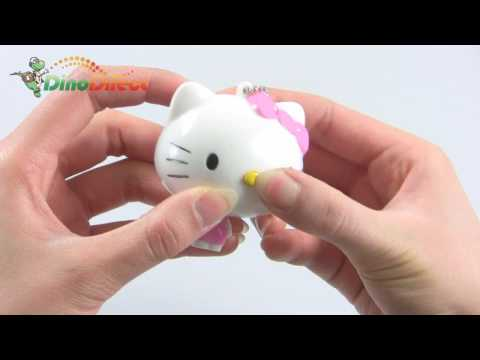 Cartoon Hello Kitty Shape Retractable Tape Measure Ruler Keychain 3 Pack - dinodirect