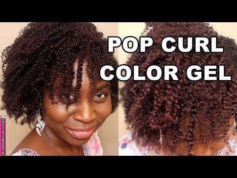 Temporarily Color Your Hair with Gel |  Pop Curl Color Gel