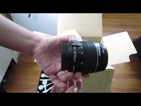 Unboxing: Canon EOS Rebel T3i (600D/Kiss X5) Digital SLR