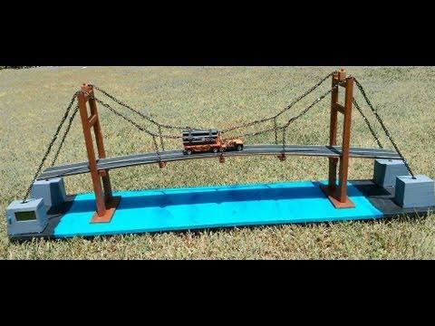 Building A Wooden Suspension Bridge