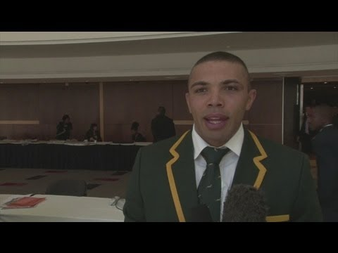 South African stars launch Nelson Mandela Sports Day