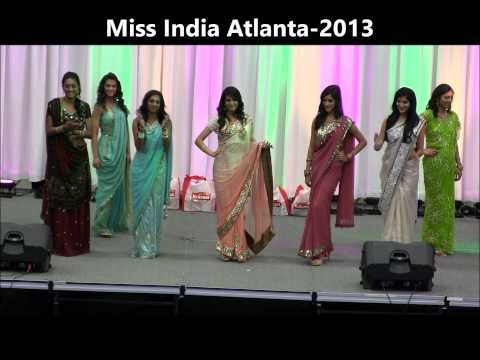 Miss India Atlanta 2013 video