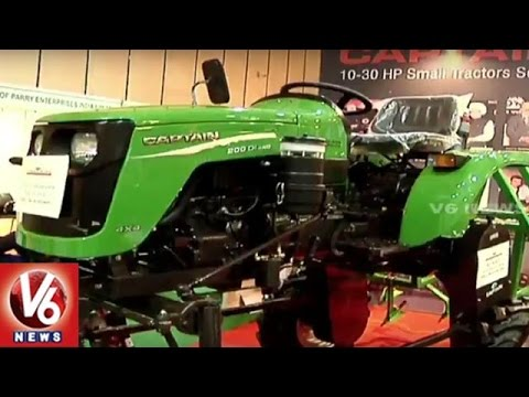 Agri Horti Tech 2016 Expo | Agriculture, Forestry Trade Show in Hyderabad | V6 News