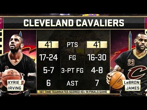 The HISTORIC Finals Game LeBron, Kyrie SHOCKED THE WORLD!