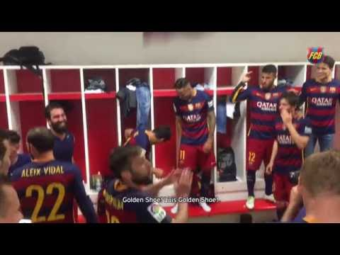 Luis Suárez thanks FC Barcelona teammates