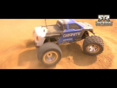 ARRMA™ Granite 1/10 Scale 2WD EP 2.4GHz Monster Truck RTR