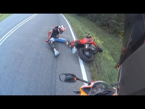 2016 CBR500R CRASH!!