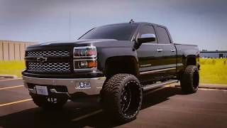 "2015 Chevy Silverado 1500 (6"" Rough Country Lift, TIS Wheels and AMP Tires)"