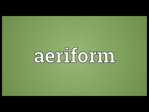 Header of aeriform