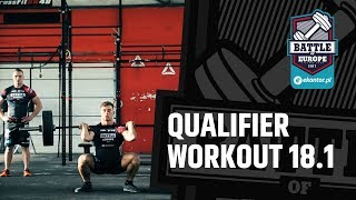 Ekantor.pl Battle of Europe vol. 2 - qualifier workout 18.1 / European Charity Fitness Championship